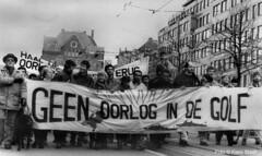 golfoorlog-1990_001 (k.stoof1) Tags: demonstration demonstratie gulf war golfoorlog amsterdam
