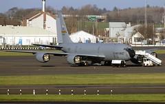 KC135  23556 (TF102A) Tags: prestwick prestwickairport aviation aircraft airplane usaf usairforce kc135 23556