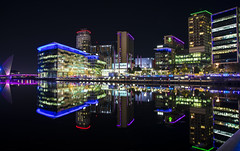 Salford Quays (airpower) Tags: salford quays manchester uk england canon sigma long ex city 3000pix lights night