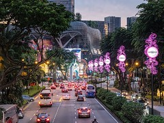 City Lights of Singapore (Jack Heald) Tags: singapore night lights city cityscape heald jack sony rx100 rx100m6 dscrx100 travel tourist tourism nightscape scottsroad orchardroad ion orchard