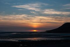 Sunset (Jez B) Tags: wales llandudno beach sea ocean water sun setting sunset cloud sky great orm tide