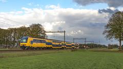 NS 7541 als  Spr. 7052 op pad. (twenterail) Tags: ddz ns treinen spoorwegen eisenbahn