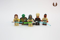 Figbarf: Jedi of the Republic (darth85) Tags: swlego lego legosw minifigure minifig figbarf starwars star wars jedi master