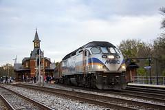 Point of Rocks Station 8 Nov 2018 _15 (smata2) Tags: marc train railroad railway passengertrain trainsinaction pointofrocks
