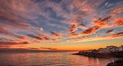 Nerja, Spain (Vest der ute) Tags: g7xm2 g7xll spain water sky clouds buildings landscape fav25 fav200 sea seascape
