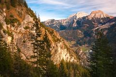 Blick von der Grünsteinhütte (1220m) ins Tal Königssee 4 (Obachi) Tags: grünstein berchtesgarden flickr hohes brett hoher göll hohergöll hohesbrett