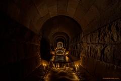 Stream of light (MIKAEL82KARLSSON) Tags: tunnel urbanexplorer ue underground underjord urban utforska sten stone abandoned ljus ljussättning light longexpo sverige sweden flickr explore explorer expo empty vatten water sony a7ll samyang 24mm mikael82karlsson
