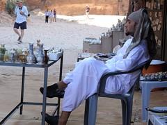 Streetseller in Petra