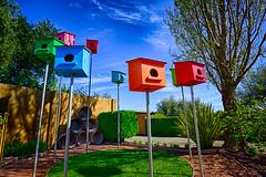 20150328_cornerstone_009 (petamini_pix) Tags: sonomacounty cornerstone art birdhouse hdr colorful outdoor bright