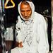 Man in Turban in Rickshaw, Etawah India
