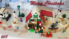 Playmobil Christmas 2018 (1) (WesternOutlaw) Tags: playmobil christmas playmobilchristmas playmobilwinter christmasvillage wintervillage northpole playmobilsanta santatoys santasworkshop santaworkshop