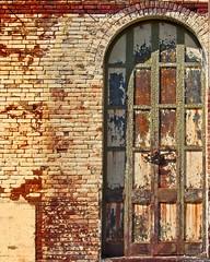 Rusty Storefront Door 8800 A (jim.choate59) Tags: jchoate on1pics rusty crusty door historic harrrisburgoregon willametteriver