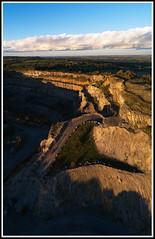 Crich Quarry Vertorama smll (GOLDENORFE) Tags: drone phantom4pro crich
