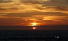 Sunset IV (verridário) Tags: sun sunset sea ocean plage beach sky praia litoral sony figueira da foz atlantique mar atlantico tramonto sol light low nuvens nuages clouds