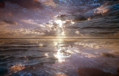 .......film (Finasteride (Magro Massimiliano)) Tags: nikonfm vivitar19mm138 kodak 35mm film analogue analogic analog analogico finasteride magromassimiliano kodakultramax400 nikon35mmf2 nikkor35mmf2 doubleexposure sea seascape clouds sunset