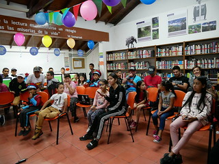 24 aniversario Biblioteca San Sebastián de Palmitas