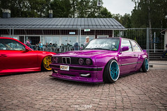 E30 (RSipp) Tags: bmw e30 pandem airsuspension cdlc fittedfest lowlifer stance fitment finland lahti 2018