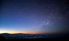 Haleakalā Dawn (Chris Saulit) Tags: haleakalā summit dawn stars milkyway night longexposure hawaii maui volcano crater maunakea maunaloa sunrise astrometrydotnet:id=nova3109977 astrometrydotnet:status=solved