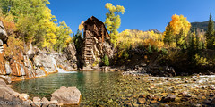 Crystal Mill: Another Look (OJeffrey Photography) Tags: crystalmill iconic colorado co fallcolors fallcolor ojeffreyphotography ojeffrey jeffowens nikon d850 panorama pano