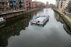 _DSC7656 (BobPetUK) Tags: river aire riveraire float floating construction equipment transport civilengineering leeds 2019