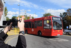 GAL 163 @ Orpington train station (ianjpoole) Tags: goahead london metrobus alexander dennis enviro 200 yx61enc 163 working route r1 high street green grovelands road st pauls cray