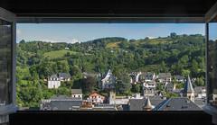 Vue sur la ville (balese13) Tags: auvergne canon s3is chambre labourboule montagne paysage pointdevue powershot toit ville vue puydedôme fv10
