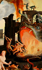 Lucas van Leyden. Last Judgment Triptych. 1527. The Hellmouth (arthistory390) Tags: rijksmuseum hellmouth