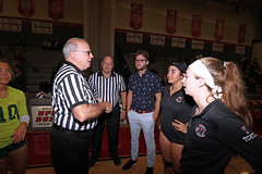 IMG_3166 (SJH Foto) Tags: canon 1018 f4556 stm superwide lens pregame ceremonies ref referee captains coin toss girls high school volleyball bishop shanahan hempfield state pool play championships