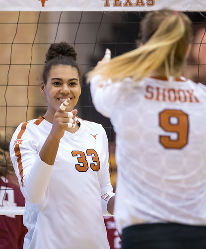 University of Texas Longhorns Volleyball (2018-10-27)