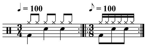3-4_equals_3-8_drum_pattern