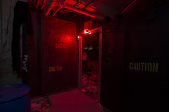 Into Trash (ShapesIndustries.com) Tags: hauntedbasement spooky halloween underground fear evil sets scenes stages displays exhibit attraction experience theater dark