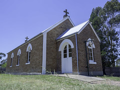 St Mark's Anglican Church, Bulga NSW - see below (Paul Leader - Paulie's Time Off Photography) Tags: anglicanchurch bulgansw church olympus olympusomdem10 paulleader architecture oldbuilding building god christian christianity saviour savior faith nsw newsouthwales australia
