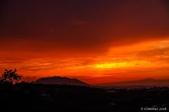 Fire sunset. (Ciminus) Tags: coucherdesoleil sabina ciminus naturesubjects tramonto sunset fujifilmxt2 nature northernlazio xf1855f284rlmois italy lazio ciminodelbufalo landscape firesunset wildlife coth5