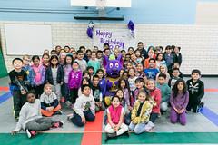 R.B. Birthday - Reilly Elementary (Austin Community College) Tags: acc austincommunitycollegedistrict celebration children costume event mascot rbbirthday rb riverbat austin texas unitedstatesofamerica usa