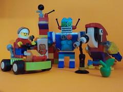 Lego 10402, Futuro divertido (Juan Xic Eseyosoyese) Tags: lego 10402 futuro divertido ® classic detalles producto y la experiencia de juego ayudarán los robots vive ilusión crear con ladrillos construye un robot casa o crea kart más rápido emocionantes carreras si puedes imaginarlo construirlo reconstruirlo jugar todo día pequeños grandes ideas guacamayo que canta nikon 60 aniversario bloques do for us future legopic manzana verde misma caja juguete