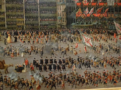 Parade of Spanish troops on the great market of Brussels (Beyond the grave) Tags: art paradeofspanishtroopsonthegreatmarketofbrussels painting rijksmuseum netherlands holland brussels greatmarket