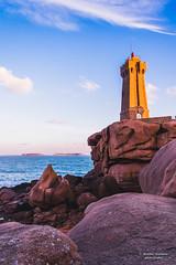 DSC_6487-HDR (maxjouv) Tags: ploumanach light house phare côte granit rose bzh bretagne morning matin rocks rochers sea mer pink