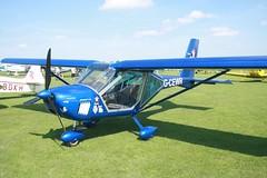 G-CEWR (IndiaEcho) Tags: gcewr aeroprakt foxbat egkb orm northampton sywell airport airfield light general civil aircraft aeroplane aviation canon eos 1000d laa fly in 2018 18 northamptonshire england