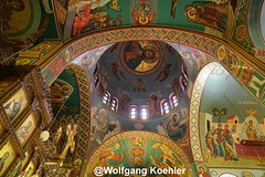 Monastery - a ceiling of glory. (elbigote1946) Tags: decke ceiling lord god gott monastery kloster paintings frescoe