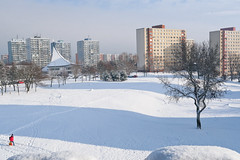 019Jan 08: Winter Suburb CItyscape (Johan Pipet 2M+ views) Tags: flickr winter zima sneh snow sunny january city mesto suburb bratislava park koprivnica dubravka dúbravka cold slovakia slovensko eu europe palo bartos bartoš canon g7x