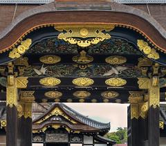 The Kara-mon gate (Tim Ravenscroft) Tags: castle nijo gate karamon japan kyoto hasselblad hasselbladx1d architecture