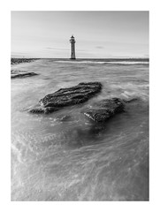 new brighton - (markmcneill22) Tags: wirral liverpool new brighton seascapephotography lighthouse water waves
