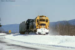 NBER2427-2429-snow_e-PortMatildaPA_0393 (mswphoto44) Tags: nber nittany bald eagle railroad train freight pa cf7 locomotive diesel