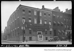 1-2  Clinton square  1938 Hoffman Bowling alley (albany group archive) Tags: 1930s old albany ny vintage photos picture photo photograph history historic historical