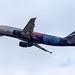 Frankfurt Airport: Aeroflot (PBC CSKA Moscow Livery) Airbus A320-214 A320 VP-BWE
