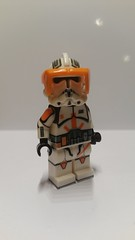 Lego Star Wars Custom Commander Cody