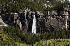 Bridal Veil Falls, Colorado USA - Original image from Carol M. Highsmith's America, Library of Congress collection. Digitally enhanced by rawpixel.