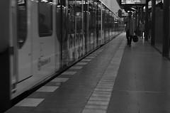 S5 (Binacat) Tags: canon eos digital 750d blackandwhite bnw bw monochrom motion train trainstation s5 berlin schwarzweis street outside dawn dämmerung sbahn bahnhof bewegung