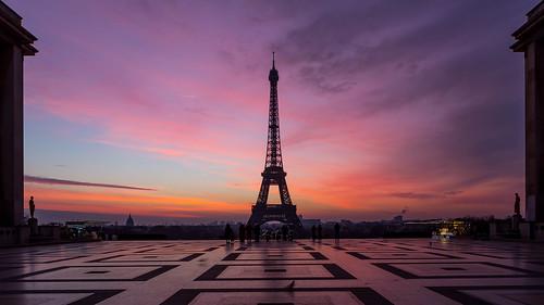 Paris s'éveil
