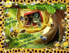 """One Hundred Smiles"" (jlynfriend) Tags: smileonsaturday onehundredsmiles impression art honey bee animals cat dog bird flowers smiles artistic image photo cartoon"